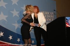 Karen Siegemund and Friend of AFA Ashley Lewis 2