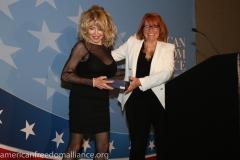 Karen Siegemund and Friend of AFA Ashley Lewis