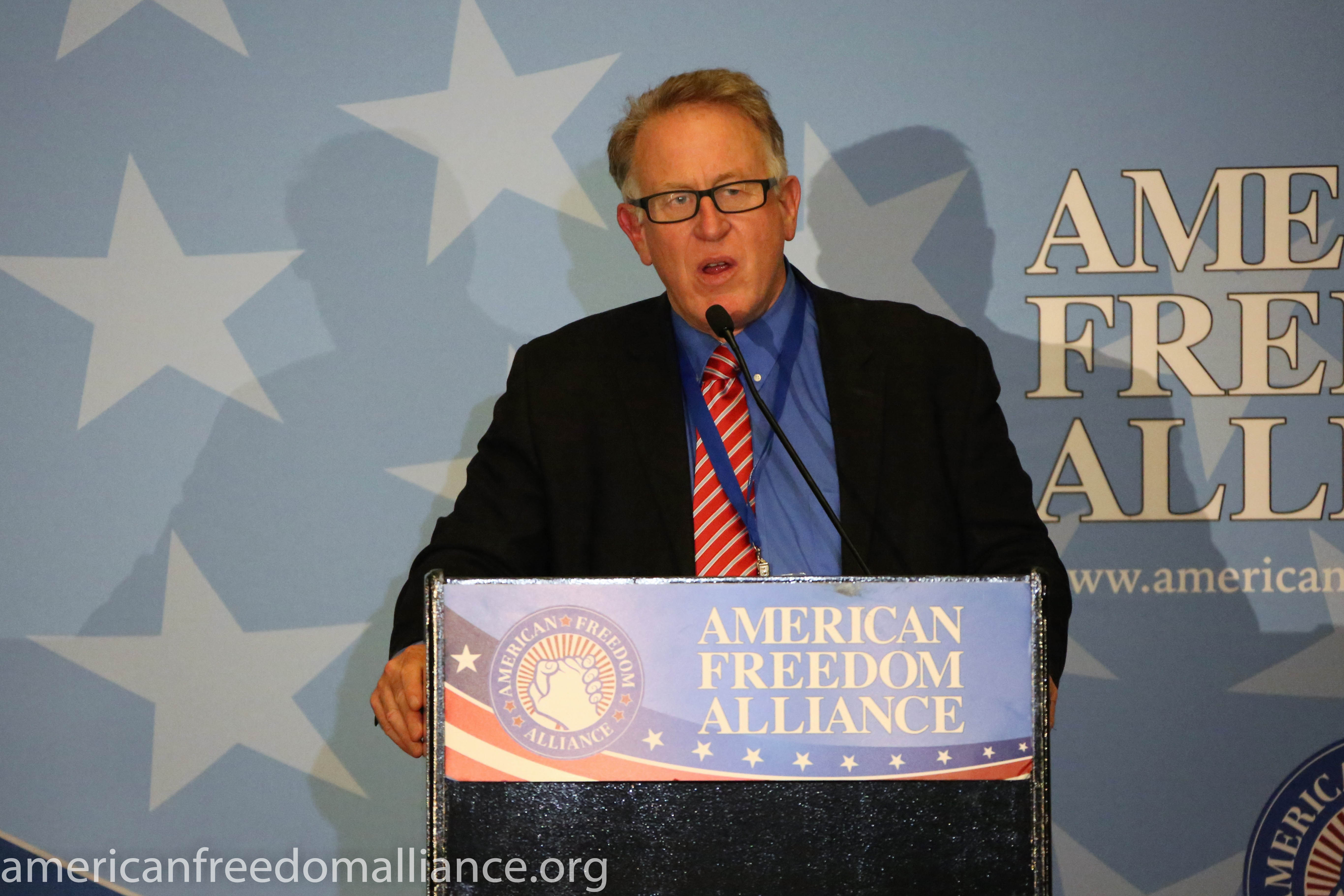 Trevor Loudon, American Freedom Award Honoree